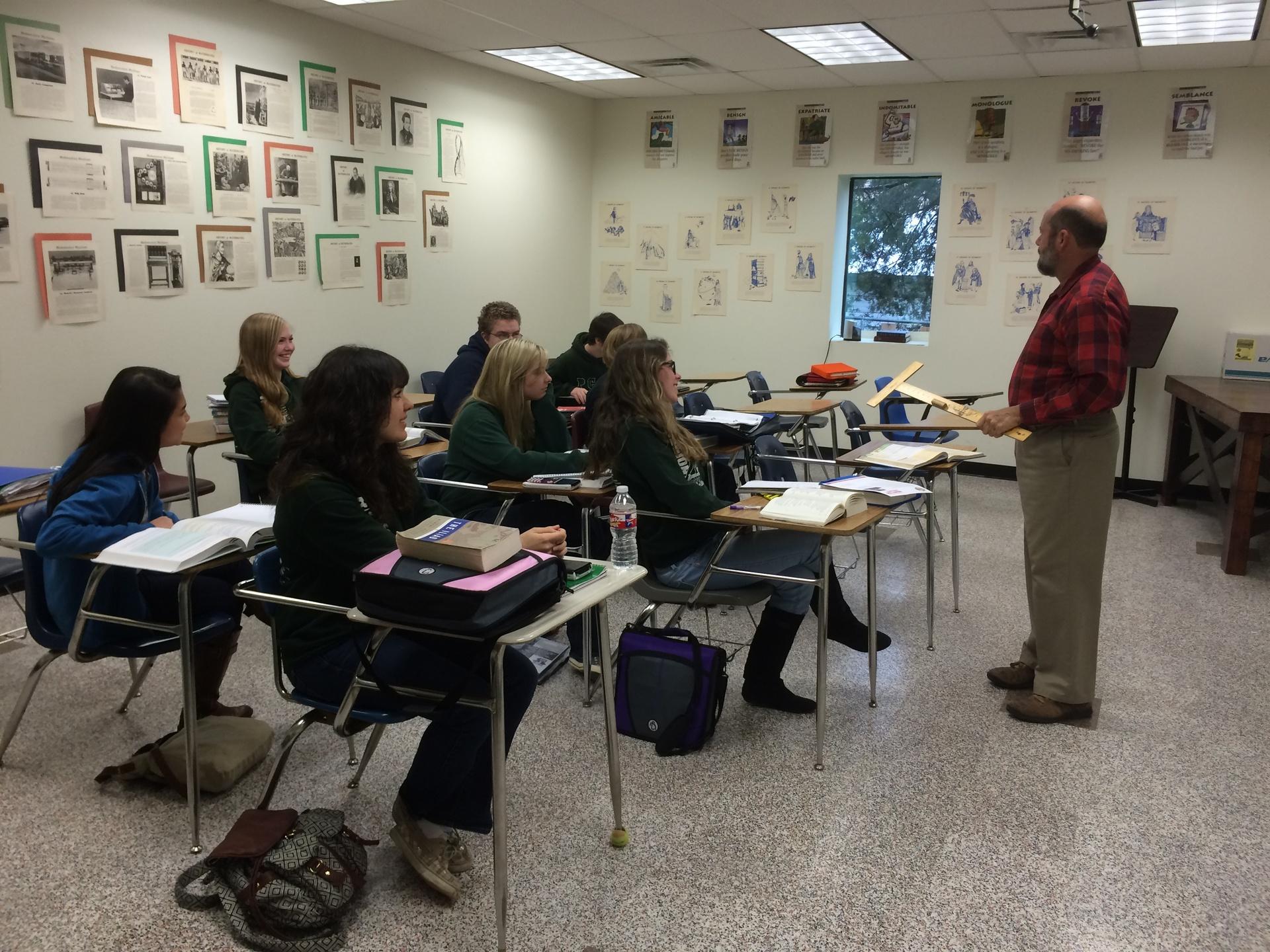 HS Trigonometry Class