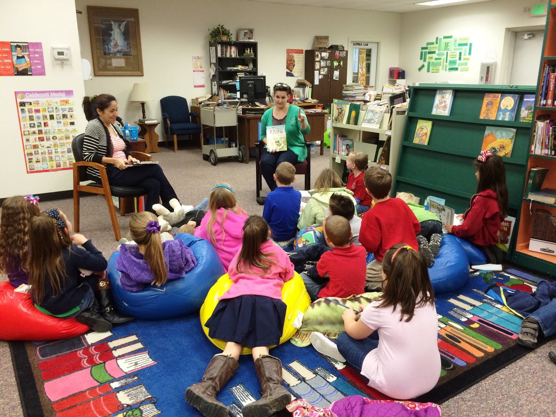 Storytime in the Library