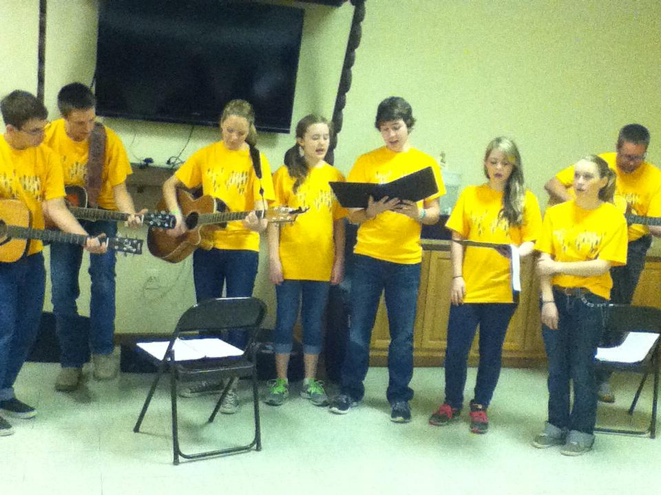 Mission Trip Music Team