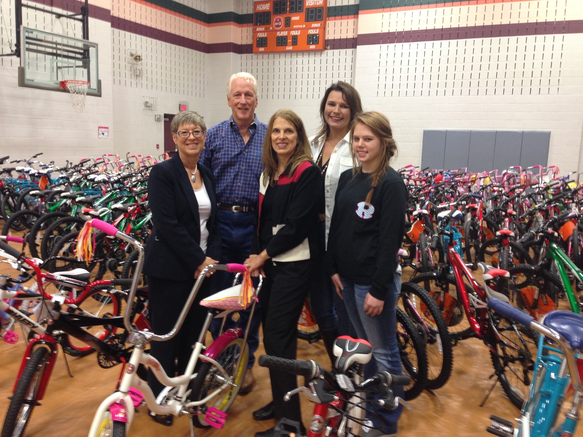 Bikes for Kids - 1st year!